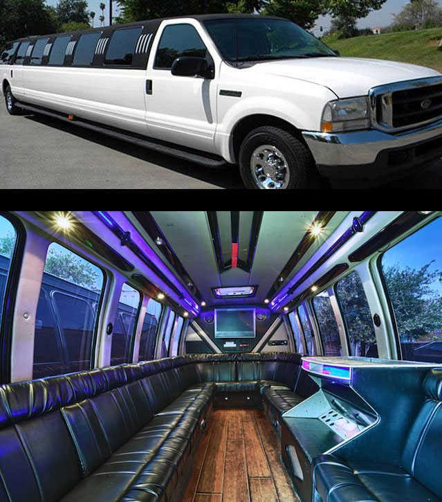 Charleston Excursion Stretch Limousine