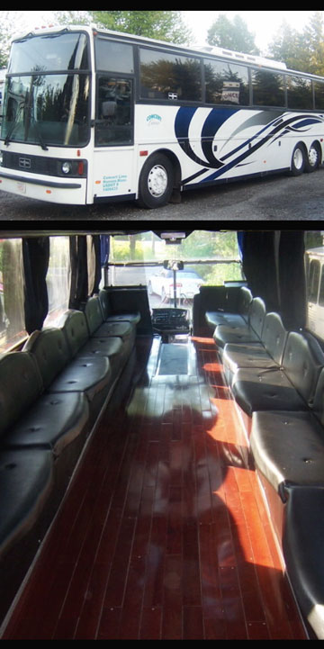 Charleston Limousine Bus