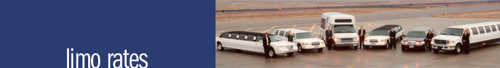 Charleston Limousine Rates