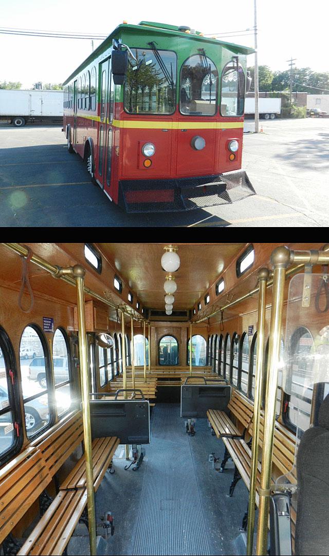 Charleston Limousine Trolley Rental