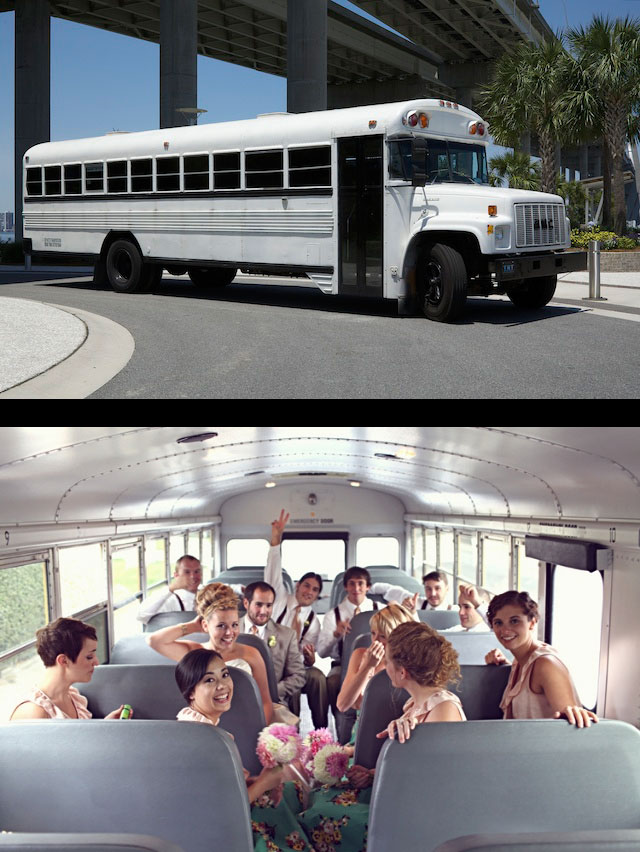 Charleston Limousine School Bus